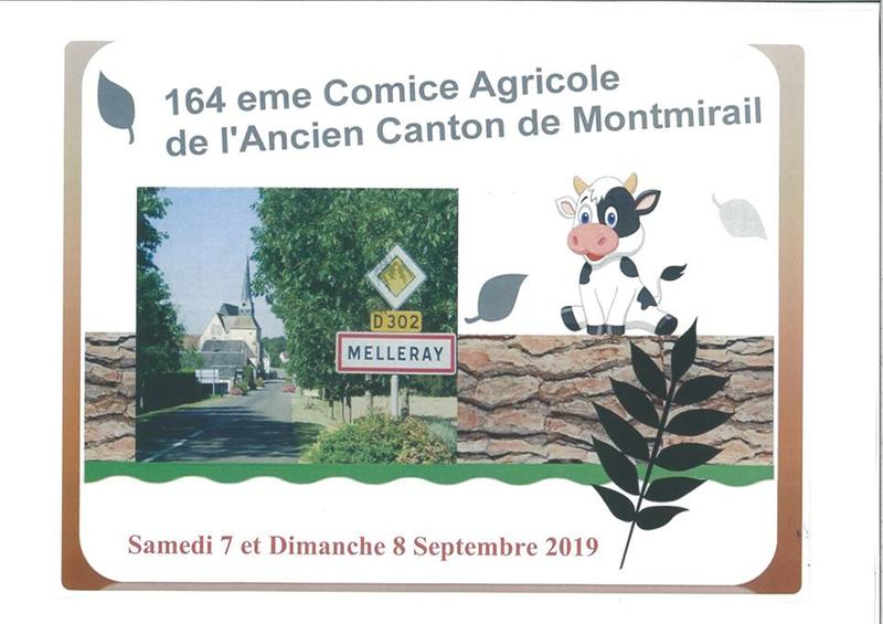 Calendrier Comice Agricole Sarthe 2019.Comice Agricole Ancien Canton De Montmirail A Melleray