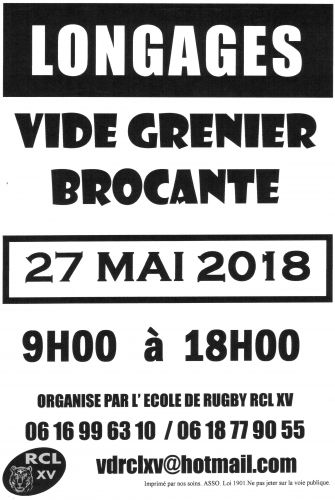 Vide-greniers Brocante