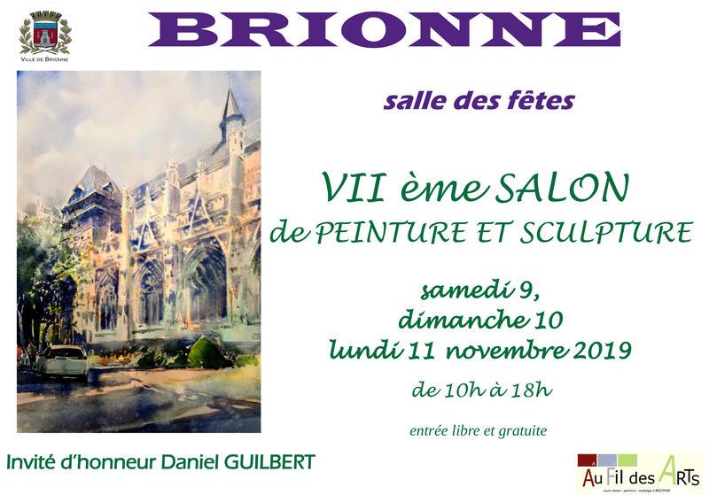 7e édition du salon de la peinture à Brionne